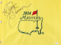 Scotty Cameron Signed 2014 Masters Pin Flag (JSA COA) at PristineAuction.com