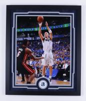 Jason Kidd Signed Nets 22x26 Custom Framed Photo Display (PSA COA) at PristineAuction.com