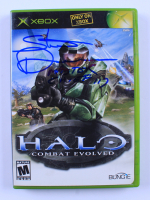 """Steve Downes Signed XBOX Halo Combat Evolved Video Game Inscribed """"Master Chief 117"""" (Radtke COA) at PristineAuction.com"""