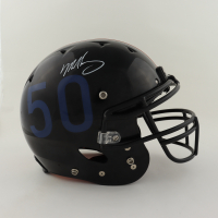 Mike Singletary Signed Full-Size Youth Authentic On-Field Helmet (Beckett COA) (See Description) at PristineAuction.com