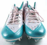 A.J. Feeley Twice-Signed Pair of Nike Football Cleats (JSA COA) at PristineAuction.com