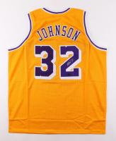 Magic Johnson Signed Jersey (Radtke COA) at PristineAuction.com