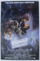 "Anthony Daniels Signed ""Star Wars Episode V: The Empire Strikes Back"" 24x36 Movie Poster Inscribed ""C-3PO"" (Radtke COA) at PristineAuction.com"