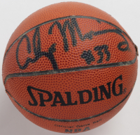 Alonzo Mourning Signed NBA Game Ball Mini Basketball (JSA COA) (See Description) at PristineAuction.com
