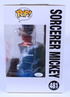 """Bret Iwan Signed Disney """"Sorcerer Mickey"""" #481 Large 10"""" Funko Pop! Vinyl Figure Inscribed """"Mickey Mouse"""" (JSA COA) at PristineAuction.com"""