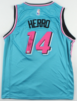 Tyler Herro Signed Heat Jersey (PSA COA) at PristineAuction.com