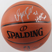 """Dominique Wilkins Signed Silver Series Basketball Inscribed """"HOF 06"""" (JSA COA) at PristineAuction.com"""