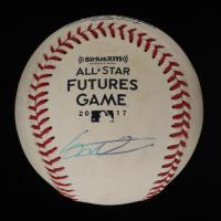 Vladimir Guerrero Jr. Signed 2017 All-Star Futures Game OML Baseball (JSA Hologram) at PristineAuction.com