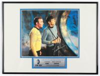 "William Shatner & Leonard Nimoy Signed 12x16 Framed ""Star Trek: The Original Series"" Photo (Beckett LOA) (See Description) at PristineAuction.com"