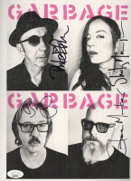Garbage 8x10 Photo Band-Signed by (4) with Shirley Manson, Duke Erikson, Steve Marker & Butch Vig (JSA COA) at PristineAuction.com