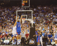 Mario Chalmers Signed Kansas Jayhawks 8x10 Photo (JSA COA & Stacks of Plaques Hologram) at PristineAuction.com