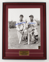 Ted Williams & Bobby Doerr Signed Red Sox 20x26 Custom Framed Photo Display (Williams COA) (See Description) at PristineAuction.com
