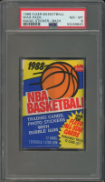 1988 Fleer Basketball Magic Sticker Wax Pack (PSA 8) at PristineAuction.com