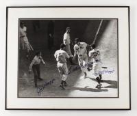 Ted Williams, Joe DiMaggio, & Dom DiMaggio Signed 20x24 Custom Framed Photo Display (Williams COA & Beckett LOA) at PristineAuction.com