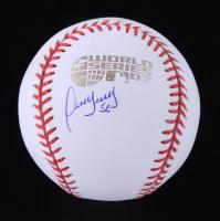 Franklin Morales Signed 2007 World Series Logo Baseball (JSA COA) at PristineAuction.com