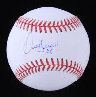 Franklin Morales Signed OML Baseball (JSA COA) at PristineAuction.com