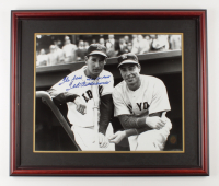 """Ted Williams Signed 22.5x26.5 Custom Framed Photo Display Inscribed """"The Best I Ever Saw"""" (Williams COA & Beckett LOA) (See Description) at PristineAuction.com"""