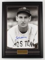 Ted Williams Signed 18.5x25.5 Red Sox Custom Framed Photo Display (Williams COA & PSA LOA) (See Description) at PristineAuction.com
