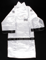 Tyson Fury Signed Everlast Boxing Robe (Beckett Hologram) (See Description) at PristineAuction.com