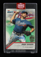 John Smoltz 2019 Topps Archives Signature Series 2016 Topps Bunt #146 #2/16 at PristineAuction.com