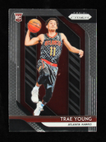 Trae Young 2018-19 Panini Prizm #78 RC at PristineAuction.com