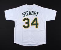Dave Stewart Signed Jersey (JSA COA) at PristineAuction.com