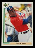 Michael Jordan 1991 Upper Deck #SP1 SP Shown Batting in White Sox Uniform at PristineAuction.com