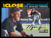 Michael Jordan 1994 Collector's Choice Silver Signature #635 UP at PristineAuction.com