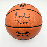 """Jerry West Signed NBA Game Ball Basketball Inscribed """"The Logo"""" (PSA COA) at PristineAuction.com"""