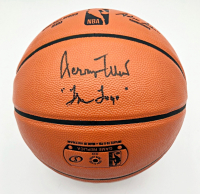 """Jerry West Signed NBA Game Ball Series Basketball Inscribed """"The Logo"""" (PSA COA) at PristineAuction.com"""