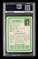 Jack Nicklaus Signed 1981 Donruss #13 RC (PSA Encapsulated) at PristineAuction.com