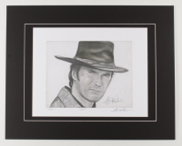 """Anthony Douglas Signed """"Clint"""" LE 16x20 Custom Matted Print (PA LOA) at PristineAuction.com"""