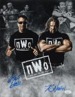 "Scott Hall & Kevin Nash Signed ""NWO"" 11x14 Photo (JSA COA) at PristineAuction.com"