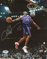 Vince Carter Signed Raptors 8x10 Photo (Beckett COA & PSA Hologram) at PristineAuction.com