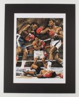"Anthony Douglas Signed ""Ali"" LE 16x20 Custom Matted Print (PA LOA) at PristineAuction.com"