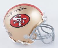 Joe Montana Signed 49ers Mini-Helmet (Fanatics Hologram) at PristineAuction.com