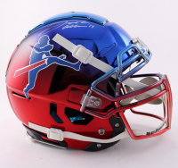 Josh Allen Signed Full-Size Youth Authentic On-Field Chrome F7 Helmet (Beckett COA) at PristineAuction.com