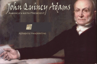 John Quincy Adams 4x6 Photo With Authentic Hand-Written Word Cut (JSA LOA) at PristineAuction.com