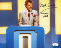 "Alex Trebek Signed ""Jeopardy"" 8x10 Photo Inscribed ""Circa"" & ""1985"" (JSA COA) at PristineAuction.com"
