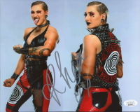 Rhea Ripley Signed WWE 8x10 Photo (JSA COA) (See Description) at PristineAuction.com
