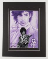 "Anthony Douglas Signed ""Prince"" LE 16x20 Custom Matted Print (PA LOA) at PristineAuction.com"