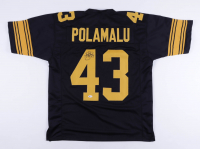 Troy Polamalu Signed Jersey (Beckett COA) (See Description) at PristineAuction.com