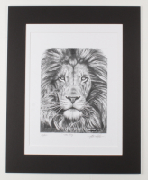 """Anthony Douglas Signed """"The King"""" LE 16x20 Custom Matted Print (PA LOA) at PristineAuction.com"""
