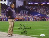 "Bill Belichick Signed Patriots 8x10 Photo Inscribed ""Pats"" (JSA COA) at PristineAuction.com"