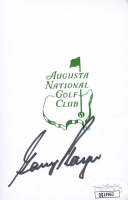 Gary Player Signed Augusta National Golf Club Scorecard (JSA COA) at PristineAuction.com