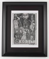 "Anthony Douglas Signed ""Mamba"" LE 19.5x23.5 Custom Framed Print Display (PA LOA) at PristineAuction.com"