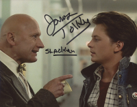 "James Tolkan Signed ""Back To The Future"" 8x10 Photo Inscribed ""Slacker"" (ACOA COA) at PristineAuction.com"