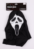 """Neve Campbell Signed """"Scream"""" Ghost Face Mask (Radtke COA) (See Description) at PristineAuction.com"""