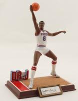 Julius Erving Signed LE Sixers Porcelain Figurine (Sports Impressions Hologram & PSA LOA) (See Description) at PristineAuction.com