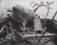 "Joe Alves Signed ""Jaws"" 8x10 Photo with Hand-Drawn Sketch (ACOA COA) at PristineAuction.com"